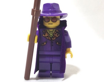 The Pimp - Custom Made Lego Minifig / Minifigure by Xaitone
