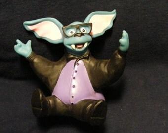 Eureeka Castle Batty Hand Puppet, Eureeka's Castle, Eureeka TV show, 1990, Bat toy, Bat, Hand Puppet, Hand Puppet Toy Hand Puppets,
