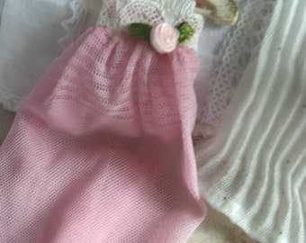 Dollhouse 12th scale pretty Negligee  miniature dolls house clothing-choice of style.