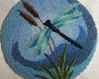 Dragonfly Punch Needle Pattern