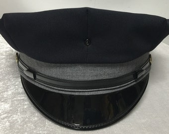 Vintage Uniform Hats size 7 3/4