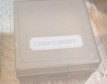 Close to my heart stamp storage case