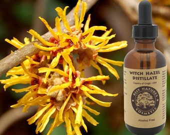 Witch Hazel Distillate (Alcohol Free) For  for use in toners, lotions, creams, clay masks after sun spray formulations...