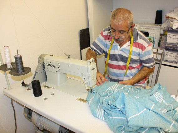 Naturals - Cacala Hooded Turkish Bathrobe - 100% Cotton Turkish Bath Towel  Fabric - Bright 64230bb52