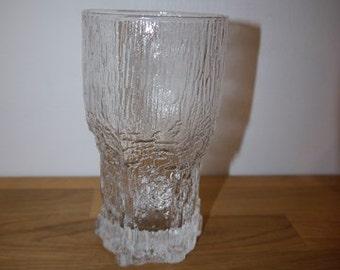 Iittala -ASLAK - Tapio Wirkkala - Longdrink / Beer Glass - RETRO - Finland - 60s