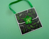 Gift Card Holder - Money Holder- Purse shapped Gift  Card Holder -- Purse Money Holder