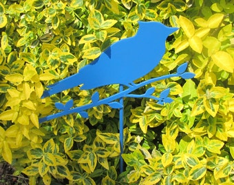 Blue Bird Stake will add color to any garden