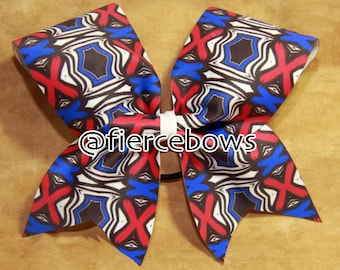 Just My Colors Bow in Red and Blue