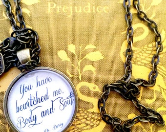 Mr. Darcy Pendant Necklace
