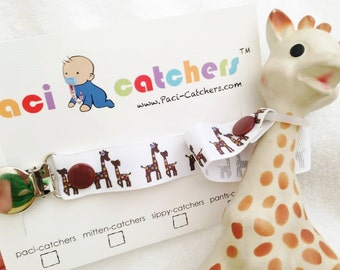 Sophie-Catcher | Sophie The Giraffe Leash | Toy Leash | Sophie The Giraffe Teether | Rubber Teether | Giraffe Teether |