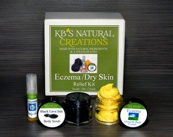 ECZEMA/Extra Dry Skin Relief Kit - Includes Shipping