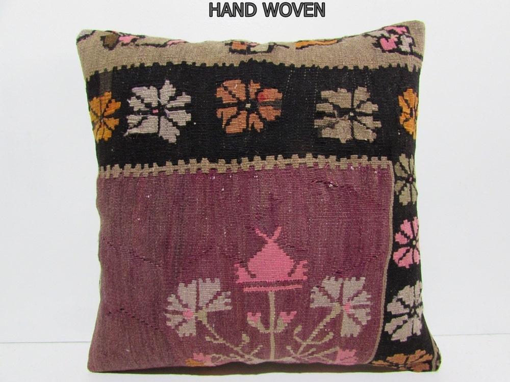 Very Large Decorative Pillows : large bohemian pillow 24x24 DECOLIC extra large throw pillow