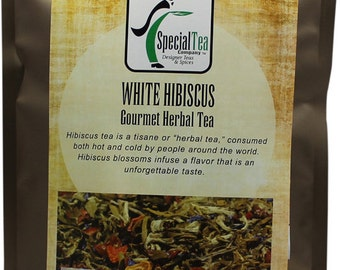 White Hibiscus White Tea - 20 Tea Bags