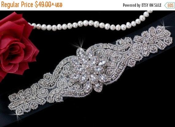 sale beaded belt bridal sash belt black sash by elegancebykate