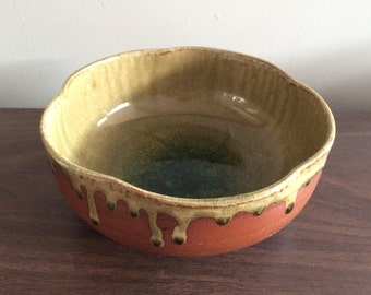 Modern Japanese Studio Pottery Bowl For Kotobuki