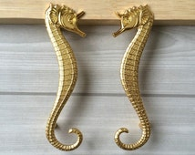 Unique Seahorse Knobs Related Items Etsy