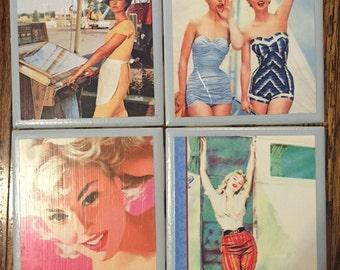 Vintage Mama Coasters