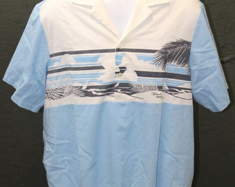 Vintage Island Feeling Men's Shirt ~ Size Large