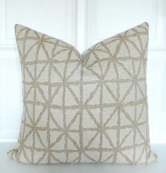 Decorative Pillows Neutral : Neutral Pillow Cover Decorative Pillow 18x18 Lumbar