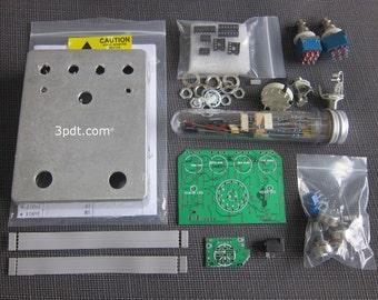 Gristleizer - Tremolo Synth Wah guitar effect pedal analog pcb DIY Kit
