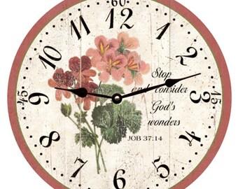Christian Flower Clock