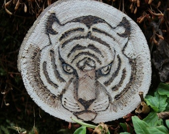 Handmade power animal charm / / power animal Tiger / / Totem