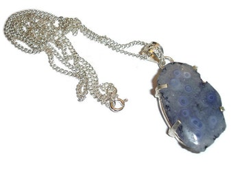 Purple Solar Quartz Necklace Purple Quarzt Pendant Purple Gemstone Pendant Necklace Purple Gemstone Necklace Gemstone drop