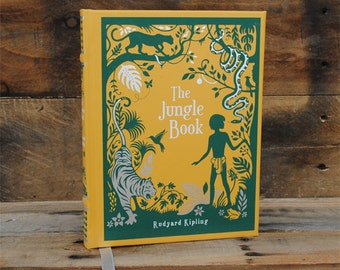 Hollow Book Safe - The Jungle Book - Leather Bound