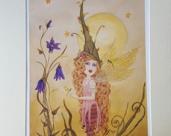 Fairy Faerie Little dragonfly