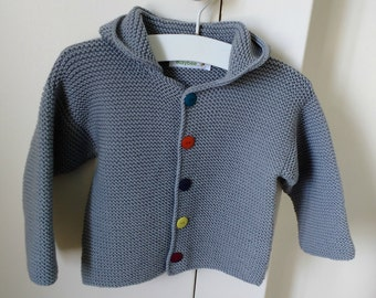 Knitting Pattern for Pixie Baby Hoodie