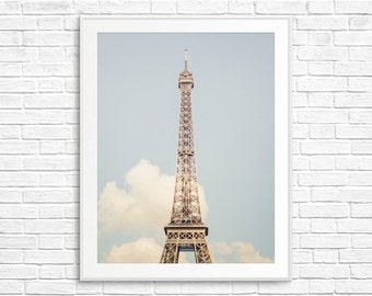 Eiffel Tower Photo - Paris Photography, Paris Print, Paris Decor, Home Decor, Paris Bedroom Decor, Paris Wall Art, Paris Images