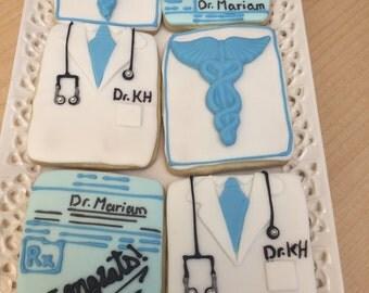 Pharmecist cookies, doctors cookies, cookies