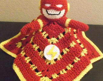 The Flash Snuggle Buddy Baby Security Blanket