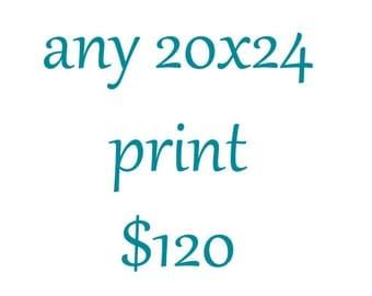 20x24 Photography Print-Large Wall Art-Custom Enlargement