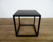 Items similar to 16 cube table base steel cube coffee - Cube table basse ...