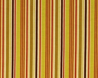 Extra 30% off Clearance 1/2 yard Indian Summer fabric by Zoe Pearn for Riley Blake  stripe green