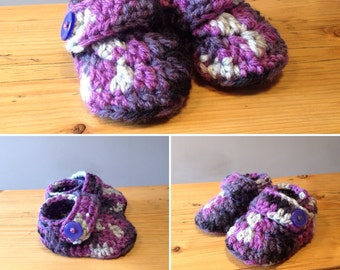 Toddler Crochet Booties