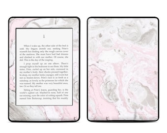 Amazon Kindle Skin - Rosa Marble - Sticker Decal - Fits Paperwhite, Fire, Voyage, Touch, Oasis