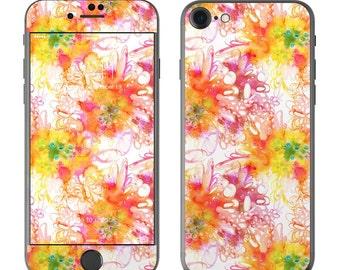 Fruit Loops by Stephanie Corfee Artworks - iPhone 7/7 Plus Skin - Sticker Decal
