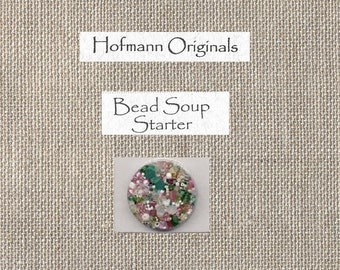 Hofmann Originals - Bead Soup Starter - Holiday Cherry Cream - BDST-30 - By the Package