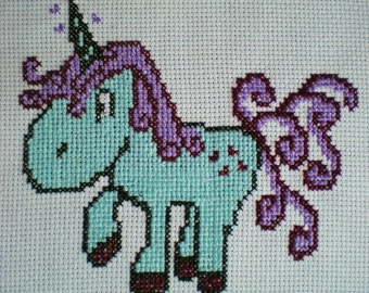 Faerie-Tailz the Unicorn  Cross Stitch Kit Children Kids