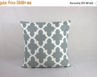 Accent Pillow Covers for Couch - Gray Pillow Cover - Grey Sofa Pillow 0006