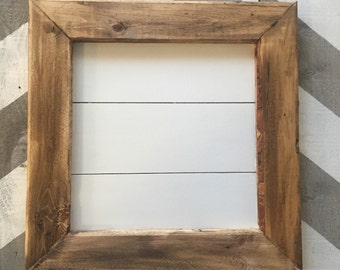 Small Framed Shiplap