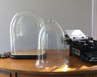 Victorian Glass Bell Jar / Cloche