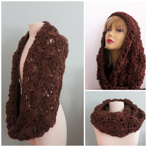 Infinity Scarf Knitting Pattern Super Bulky : Knitting Pattern, Cowl, Infinity Scarf, Super Bulky Yarn ...