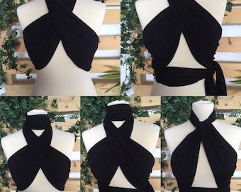 Handmade multi way wrap top - ibiza holiday fastival rave