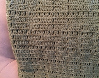 Crocheted afghan/blanket