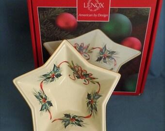 Lenox serving bowl   Etsy
