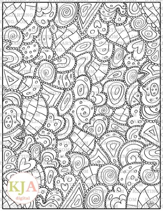Line Art Zendoodle : Eclectic geometrics zendoodle line art printable