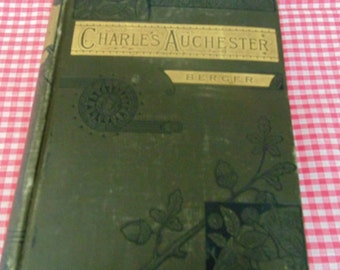 Charles Auchester 1884 Antique Book Vintage Book